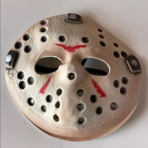 Friday the 13th Jason's Hockey Halloween Mask